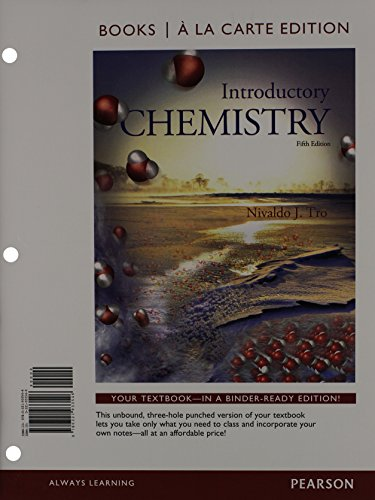 9780321934604: Introductory Chemistry, Books a la Carte Plus MasteringChemistry with eText -- Access Card Package (5th Edition)