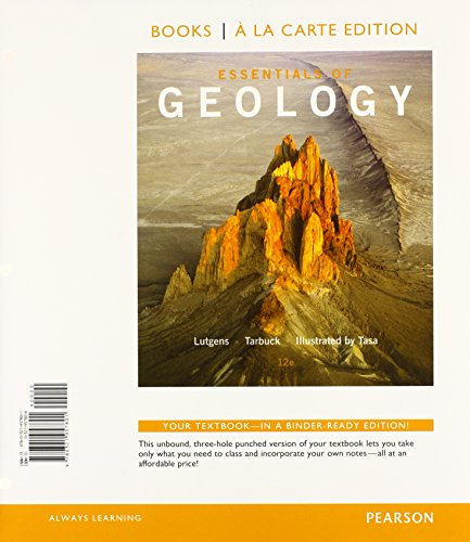 9780321937759: Essentials of Geology, Books a la Carte Plus MasteringGeology with eText -- Access Card Package (12th Edition)