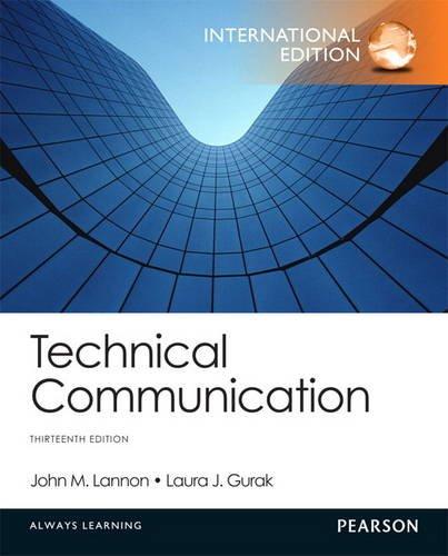 9780321938145: Technical Communication: International Edition