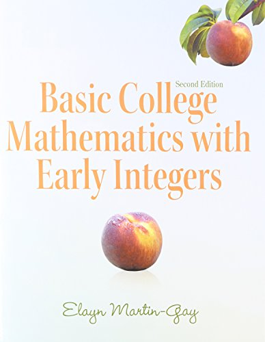 9780321938220: Basic College Math with Early Integers with Math Study Skills, Interactive DVD and MyMathLab (2nd Edition)