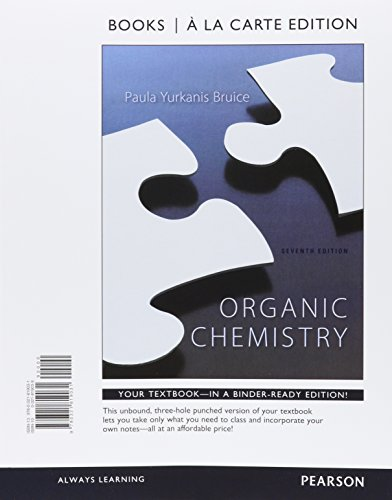 9780321939036: Organic Chemistry, Books a la Carte & MasteringChemistry with Pearson eText -- ValuePack Access Card -- for Organic Chemistry& Study Guide and Student ... Chemistry, Books a la Carte Edition Package