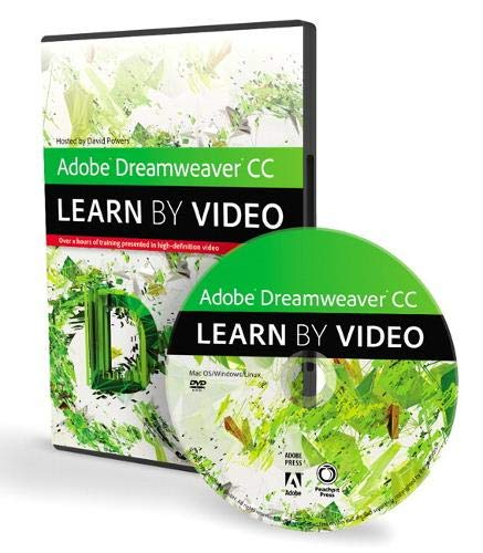 9780321939692: Adobe Dreamweaver CC: Learn by Video