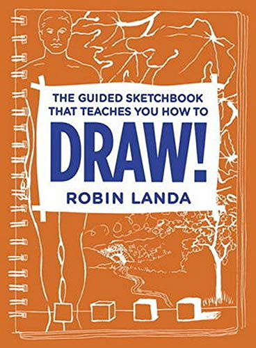 9780321940506: DRAW! The Guided Sketchbook That Teaches You How to Draw!