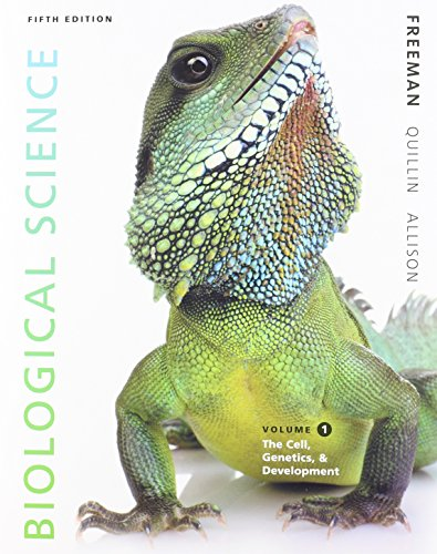 9780321941763: Biological Science, Volume 1, and MasteringBiology with Pearson eText