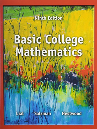 9780321941862: Basic College Mathematics Plus MyWorkBook and Video Resources on DVD with Chapter Test Prep (9th Edition)