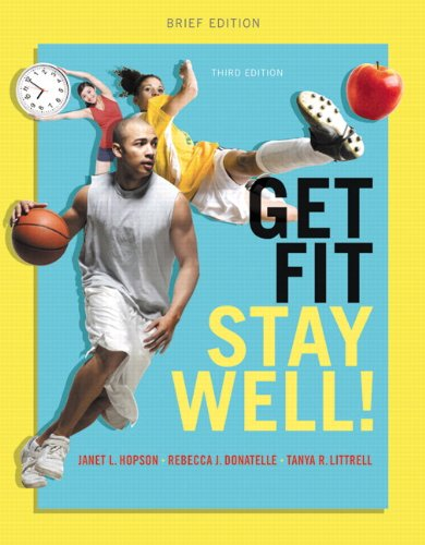 9780321944443: Get Fit, Stay Well! Brief Edition Plus MasteringHealth with eText -- Access Card Package (3rd Edition)