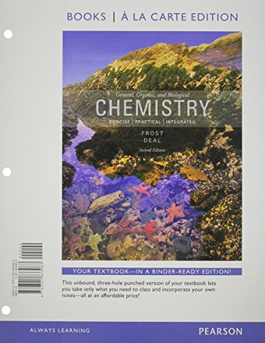 General, Organic, and Biochemistry, Books a la Carte Edition Plus MasteringChemistry with eText -- ...