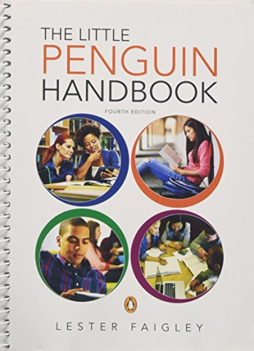 The Little Penguin Handbook: Lester Faigley