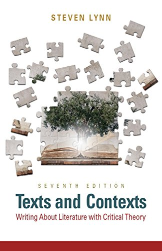9780321945624: Texts and Contexts: Writing About Literature with Critical Theory (7th Edition)