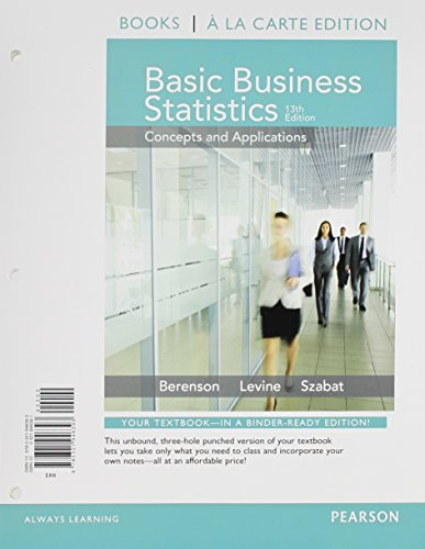 9780321946393: Basic Business Statistics, Student Value Edition (13th Edition)
