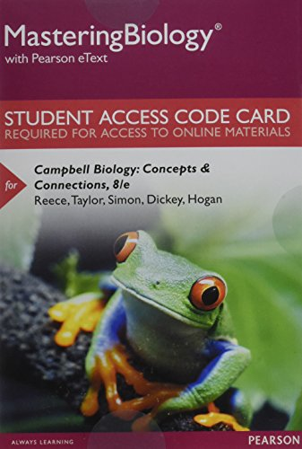 9780321946492: Masteringbiology with Pearson Etext -- Standalone Access Card -- For Campbell Biology: Concepts & Connections