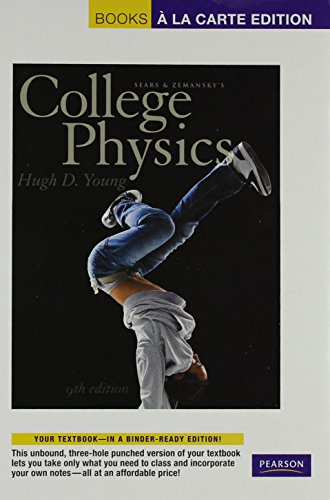9780321947161: College Physics, Books a la Carte Plus MasteringPhysics with eText -- Access Card Package (9th Edition)