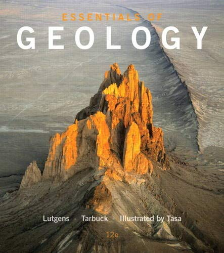 Essentials of Geology (12th Edition): Lutgens, Frederick K.;