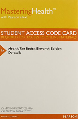 9780321948748: Masteringhealth with Pearson Etext - Valuepack Access Card - For Health: The Basics