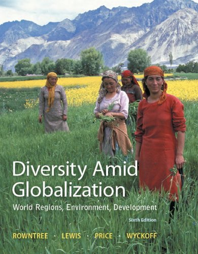 9780321948892: Diversity Amid Globalization with Student Access Code Card: World Regions, Environment, Development