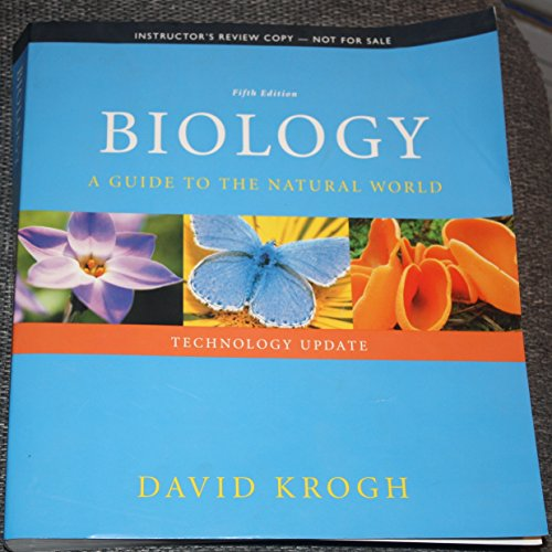 9780321948946: Biology: A Guide to the Natural World (Fifth Edition) Instructor's Review Copy