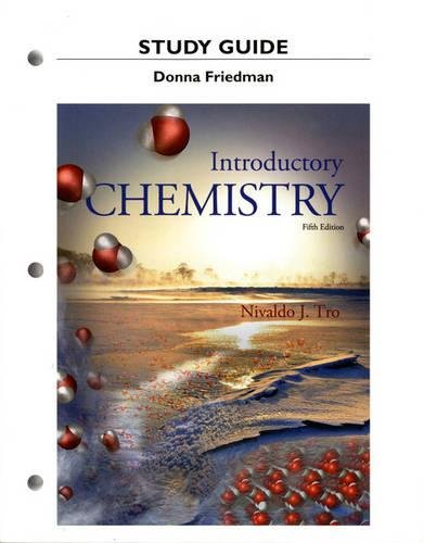 Study Guide for Introductory Chemistry: Tro, Nivaldo J.,