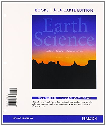 9780321949752: Earth Science, Books a la Carte Plus MasteringGeology with eText -- Access Card Package (14th Edition)