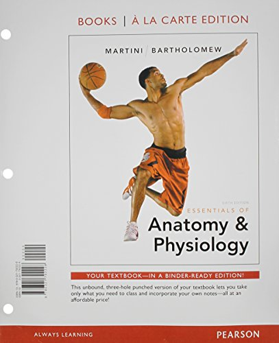 9780321949851: Essentials of Anatomy & Physiology with MasteringA&P, Books a la Carte Plus MasteringA&P with eText -- Access Card Package (6th Edition)