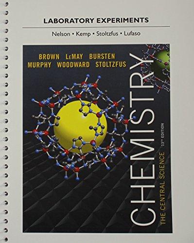 Brown: Laborato Experime Chemistr_13 (13th Edition): Brown, Theodore E.;