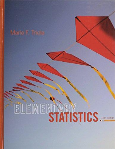 9780321950789: ELEMENTARY STATISTICS & STUDENT SOLUTNS MNL