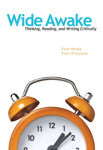 9780321951595: Wide Awake: Thinking, Reading, and Writing Critically Plus MyLab Writing -- Access Card Package