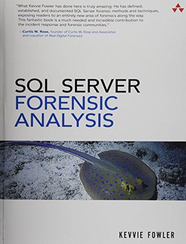 9780321951625: SQL Server Forensic Analysis (paperback)
