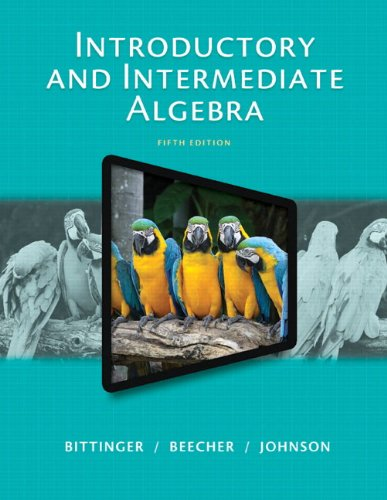 9780321951786: Introductory and Intermediate Algebra, Plus NEW MyMathLab with Pearson eText -- Access Card Package (5th Edition)