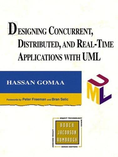9780321951816: Designing Concurrent, Distributed, and Real-Time Applications with UML (paperback) (Addison-Wesley Object Technology Series)