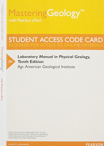 9780321952202: Matering Geology Studen Access Core Card: Laboratory Manual in Physical Geology