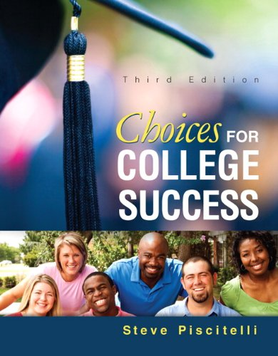 9780321952509: Choices for College Success Plus NEW MyStudentSuccessLab Update -- Access Card Package (3rd Edition) (Student Success 2015 Copyright Series)