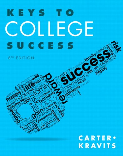 9780321952547: Keys to College Success Plus NEW MyStudentSuccessLab Update -- Access Card Package (8th Edition) (Keys Franchise)
