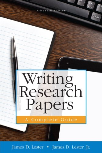 9780321952943: Writing Research Papers: A Complete Guide (spiral) (15th Edition)
