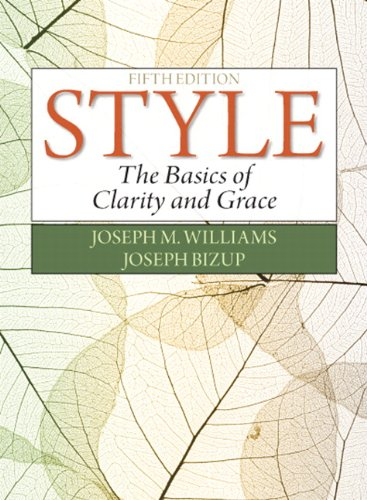 9780321953308: Style: The Basics of Clarity and Grace (5th Edition)