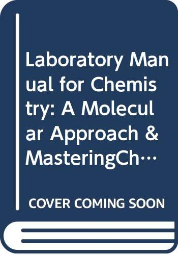 9780321955296: Laboratory Manual for Chemistry: A Molecular Approach & MasteringChemistry with Pearson eText -- Standalone Access Card Package