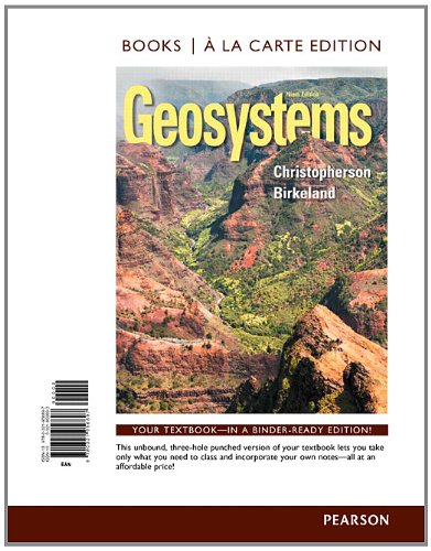 9780321956897: Geosystems: An Introduction to Physical Geography, Books a la Carte Edition (9th Edition)