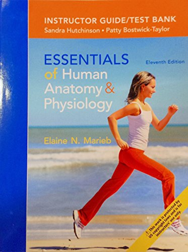 9780321957313: Essentials of Human Anatomy & Physiology - Instructor Guide/Test Bank