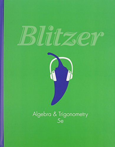 9780321957566: Algebra and Trigonometry & MyMathLab -- Valuepack Access Card & Student's Solutions Manual for Algebra and Trigonometry Package
