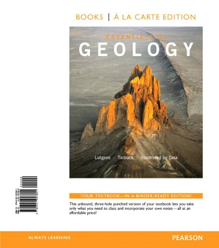 9780321957801: Essentials of Geology, Books a la Carte Edition (12th Edition)