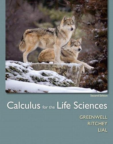 9780321964038: Calculus for the Life Sciences (2nd Edition)