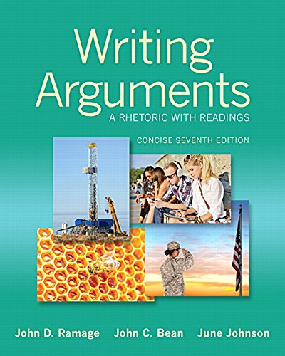 9780321964281: Writing Arguments: A Rhetoric with Readings, Concise Edition (7th Edition)