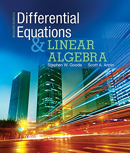 9780321964670: Differential Equations and Linear Algebra (4th Edition)