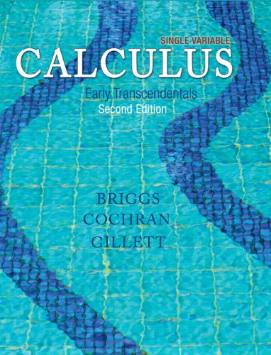 9780321965172: Single Variable Calculus: Early Transcendentals Plus MyMathLab with Pearson eText -- Access Card Package (2nd Edition) (Briggs/Cochran/Gillett Calculus 2e)