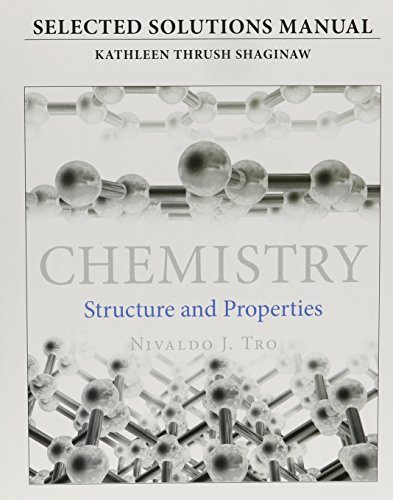 9780321965387: Student's Selected Solutions Manual for Chemistry: Structure and Properties