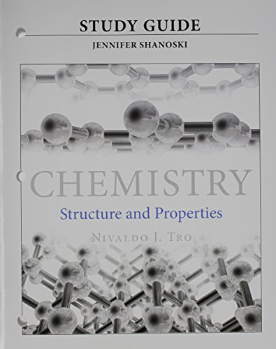 9780321965615: Study Guide for Chemistry: Structure and Properties