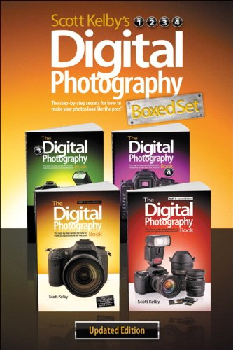 9780321966759: Scott Kelby's Digital Photography Boxed Set, Parts 1, 2, 3, and 4, Updated Edition
