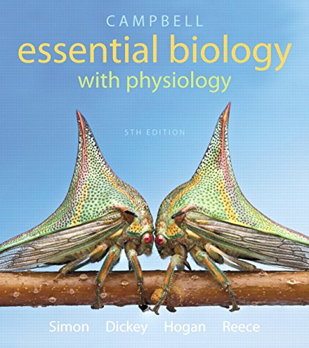 Campbell Essential Biology With Physiology + Masteringbiology: Simon, Eric J.