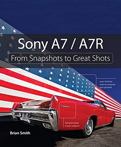 Sony A7 / A7r 9780321968609 'Sony A7/A7R: From Snapshots to Great Shots' is your guide to getting the most out of Sony's A7 and A7R cameras. These ground-breaking compact full-frame cameras which combine the features and image quality of a top-end DSLR in a smaller camera at half the weight, quickly racked up an impressive list of accolades including Popular Photography's 'Camera of the Year'. While the camera manual explains what the camera can do, it doesn't show how to use the camera to create great images! That's where Sony A7 / A7R: From Snapshots to Great Shots comes in. Starting with the top ten things users need to know about the camera, author Brian Smith, a Pulitzer Prize-winning photographer and Sony Artisan of Imagery, carefully guides readers through the operating features and how to use them. Readers get practical advice from a pro on which settings to use when, great shooting tips, and end of chapter assignments. From Snapshots to Great Shots is a beautiful how-to photography series that provides the perfect blend of instruction, inspiration, and reference for specific camera models and photography concepts. Featuring a clear, elegant design; outstanding images that educate and inspire; and a friendly, accessible voice, this series helps photographers get great shots every time they pick up their camera.