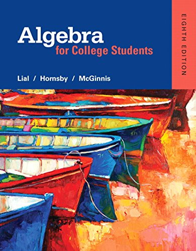 9780321969231: Algebra for College Students plus MyMathLab -- Access Card Package (8th Edition) (What's New in Developmental Math?)