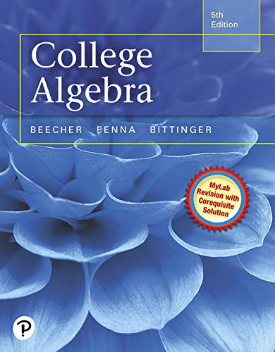9780321969576: College Algebra